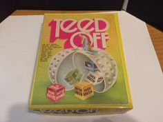 Teed Off Dice Game 1972 by CrystalTreasureTrunk on Etsy