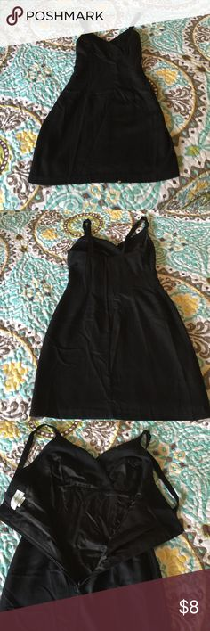 Jay Jacobs LBD Perfect LBD for your closet. Has a rib length long sleeve jacket to go with it.  Zipper back in the dress. Lined inside dress and jacket. Very expensive look. A little deodorant stain, it's shown in the last picture. Price reflects. Jay Jacobs Dresses Midi