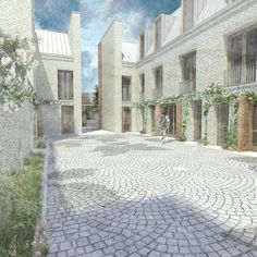 MONADNOCK - SELECTED PROJECTS - COURTYARD HOUSES