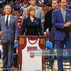 23y ago on this day the New Jersey Nets (@brooklynnets) retired Drazens Nr 3! We will always remember the man with the gifted shot and stylish play! This man we called #Petro !  #DrazenPetrovic #NBA #Nets #JerseyRetirement #1993 #NewJersey