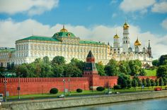 Rússia Moscovo Rios Templos Fortaleza (arquitetura militar) Kremlin Cidades