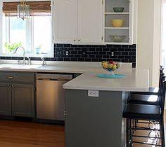 13 incredible kitchen backsplash ideas that aren't tile | kitchen