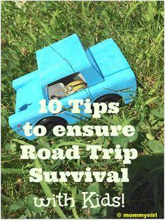 Road Trip Survival With Kids | Mommy Niri