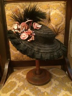 Victorian Hat                                                                                                                                                                                 More