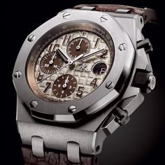 FORWARD- THINKING For 2014, six new iterations of the Royal Oak Offshore Chronograph 42mm are being launched - THE '26470' EVOLUTION A NOBLE LINEAGE Audemars Piguet Royal Oak Offshore Chronograph 42mm (See more at En/Fr/Es: http://watchmobile7.com/articles/audemars-piguet-royal-oak-offshore-chronograph-42mm) (4/10) #watches #audemarspiguet #royaloakoffshore @Audemars Piguet