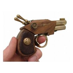 this little Steampunk pistol is made of cuteness