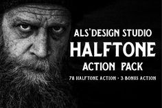AL's Halftone Action Pack - Actions