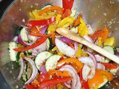 Veggies - marinade