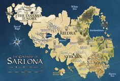 The continent of Sarlona on the World of Eberron, D&D, Wizards of the Coast.