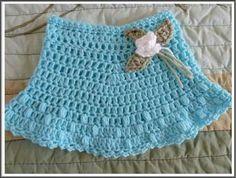 Pollerita a crochet. De la web