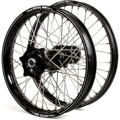Haan Honda CRF250R 14-17 CRF450R 13-17 Black/Black Excel A60 Wheel Set
