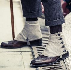 It's London Collection n' Pitti Uomo time | Covered ankle boots by Alexander McQueen