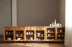 原石边柜 X MUMO on Behance Industrial Design Furniture, Furniture Design, Storage, Interior, Large Cabinets, Carpenter, Home Decor, Products, Houses