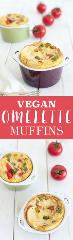Vegan Omelette Muffin