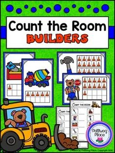 Count the Room: Numbers 1-10 and 11-20 - Builders ($)