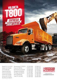 Advertising campaign for Kenworth -Campaña publicitaria para Kenworth de la Montaña / #GraphicDesign #Advertising #Marketing #PowerfulBrands #DesignByRocket