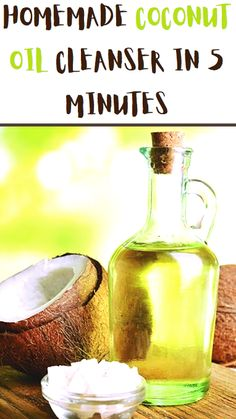 Beauty Tips For Skin, Diy Beauty, Beauty Hacks, Diy Natural Beauty Remedies, Coconut Oil Cleanser, Homemade Coconut Oil, Hair Oil, Skin Care, Health