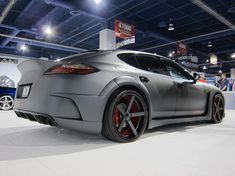 MISHA Designs Porsche Panamera Porsche Panamera, Custom Wheels, Custom Cars, Porsche Sports Car, Porsche Design, Moto Style, Top Cars, Sexy Cars, Car Manufacturers