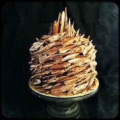 Chocolate Vortex Cake Wonky Cake Co.