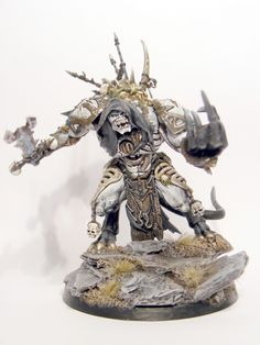 Pre Heresy Death Guard Nurgle Daemon Prince (with optional wings)