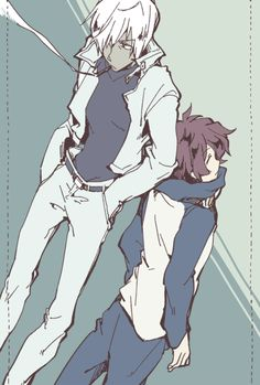 Zapp and Leonardo - Kekkai Sensen - Blood Blockade Battlefront