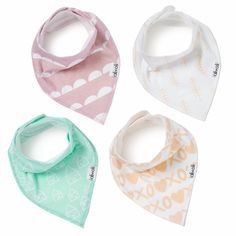Ali+Oli bandana drool bibs are specifically designed to be functional, practical, and of course, stylish. We are firm believers that as parents we don't need to compromise style and elegance just beca