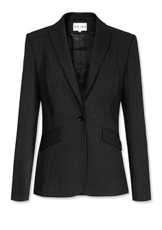 Pinstripes: Chic Fine Lines - Reiss from #InStyle