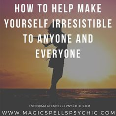 What is it about some people that just make them…well…so darn irresistible? Black Magic Love Spells, Magic Spells, Love Spell Chant, How To Become, How To Get, Describe Yourself, Holistic Healing, Say Hi, Spelling