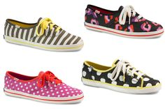 Keds X Kate Spade Is Out Now! We know what we'll be wearing on our feet this fall, thanks to Keds x kate spade new york.