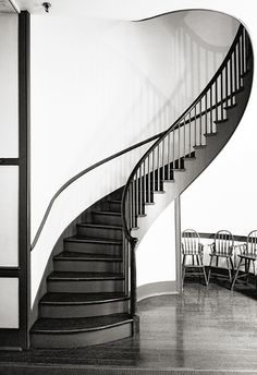 staircase (1839), Shaker Village, Pleasant Hill, Kentucky