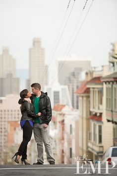 A San Francisco engagement shoot | The SnapKnot Blog | Studio EMP @Studio EMP Photography