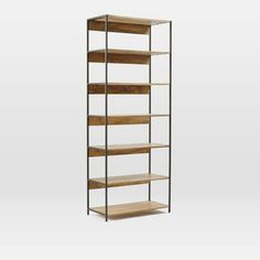 west elm Industrial Modular 84cm Bookshelf