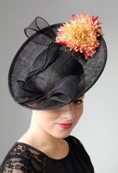 Loving to look at pretty feminine hats and head wear. Loving the flowers and especially the tweed pillbox with ruffled collar. Fascinator Hats, Headpiece, Fascinators, Kentucky Derby Hats, Tweed, Headbands, Collars, To My Daughter, Feminine