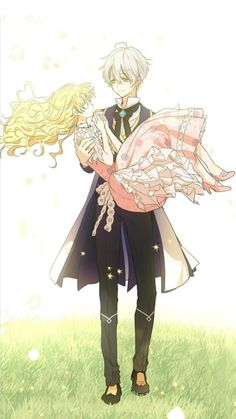 Suddenly became a princess one day - Athy x Ijekiel Beautiful Anime Girl, Anime Love, Anime Guys, Anime Princess, My Princess, Manhwa Manga, Manga Anime, Neji E Tenten, Light Novel