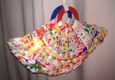 plastic bags -> durable bag