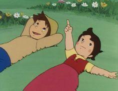 Résultat d'images pour heidi de takahata Steamboat Willie, Heidi Cartoon, Oldschool, Ghibli Movies, Old Anime, Animation, Classic Cartoons, Hayao Miyazaki, Old Tv