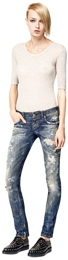 Diesel Female Preview FW14 Denim Collection - GRUPEE - 0830j