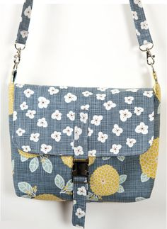 Autumn Woods Shoulder Bag - PDF Sewing Pattern by SusieD Designs at PatternPile.com