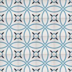 "Bayonne 8""x8"" Handmade Cement Tile – Artisan Tile Shop"