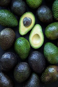 beautiful avocados - eat | raw foods - styling - food photography - simple avocado - delicious - idea - ideas - inspiration - healthy -
