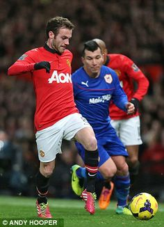 Mata showed a cool head on his first appearance for Manchester United