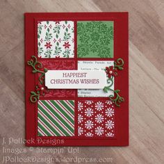 Pollock Designs - Stampin' Up! - Dashing Deer A couple of times a year Susan Campfield does a big gathering of all her demonstrators and calls it Stamp Share. One of the best things about being a Stampin' Up! Demonstrator is the communi… Happy Christmas Wishes, Christmas Cards 2018, Homemade Christmas Cards, Stampin Up Christmas, Xmas Cards, Handmade Christmas, Homemade Cards, Holiday Cards, Christmas Diy