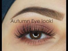 Autumn Eyelook | Modern Renaissance Anastasia Beverly Hills | Makeupartistnajla - YouTube