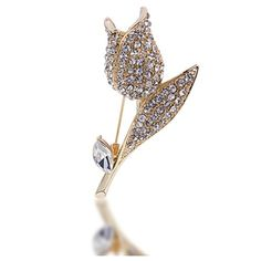 Stunning Gold Plated Flower Brooch, Nickel Free Tulip Sha... https://www.amazon.com/dp/B01M7YVZU2/ref=cm_sw_r_pi_dp_x_vLTOyb9J2W4DJ