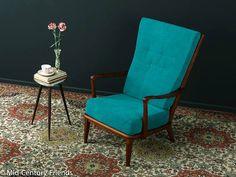 50er Sessel Ohrensessel Sofa 60er Vintage 703028