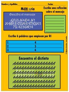 Estimulación Cognitiva, Alzheimer, Cuadernos, Memoria, Atención, Daño Cerebral, Deterioro Cognitivo