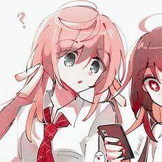 art credit: izacchii on twitter #hu #tao #hutao #genshinimpact #genshinicons #yanfei #liyue #schoolgirls #matchingicons #matchingicon #matching #fanart #icons  Cool Anime Girl, Cute Anime Pics, Cute Anime Couples, Anime Couples Drawings, Couple Drawings, Matching Icons, Matching Pfp, Anime Best Friends, Matching Profile Pictures