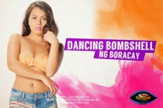 """Pinoy Big Brother All In housemate - Aina Solano """"Dancing Bombshell"""" Pinoy, Bombshells, Brother, Entertaining, Dance, Big, Dancing, Funny"""
