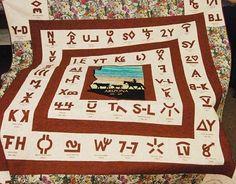 Centennial quilt, Yavapai Cowbelles (Prescott, Arizona)