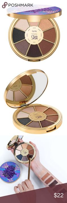 Tarte Rainforest of the Sea 2 Palette Brand new in box. Beautiful colors. tarte Makeup Eyeshadow